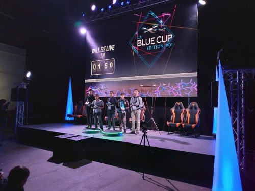 BLUE CUP 5